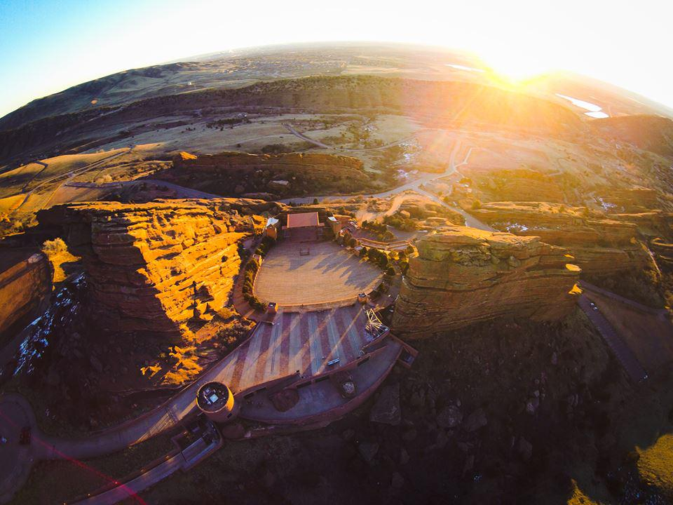 Sunrise at @RedRocksOnline. Thanks for the great #FanPhoto, Marc B.! http://t.co/wGhRHkC0nj