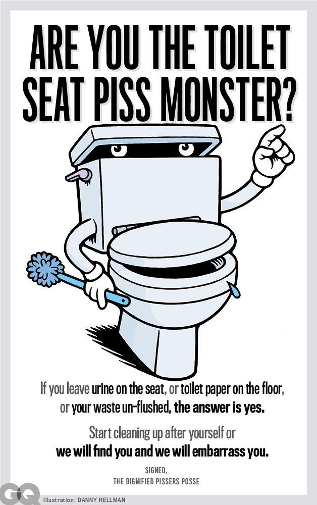 Poem Peeing On Seat