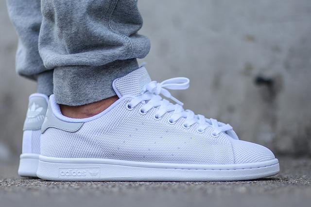 adidas Stan Smith White/Light Solid Grey Available Now http://t.