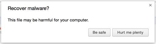 Google Chrome micro-copywriters, I salute you. http://t.co/9j18B6hzUb