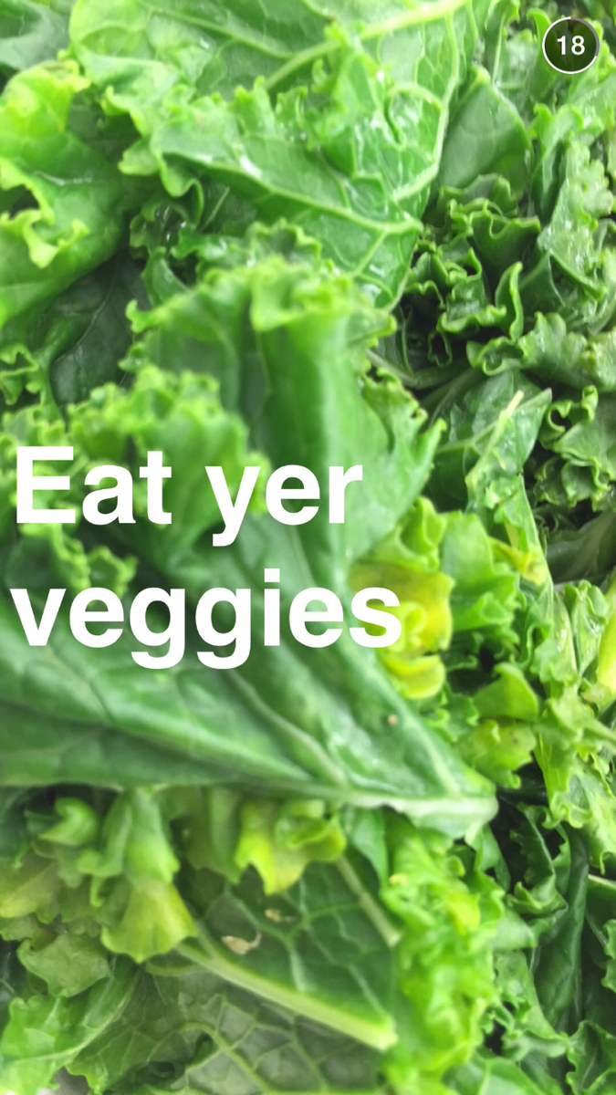 Eat yer veggies http://t.co/HAhzf4OFSG