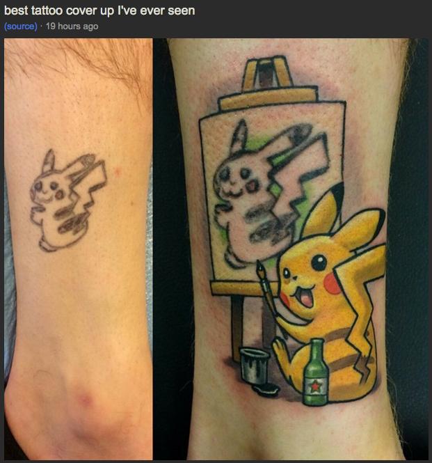 Ahhh, you're too cute, Pikachu: http://t.co/6EfLKqVPXh http://t.co/TMjgEV3YEu