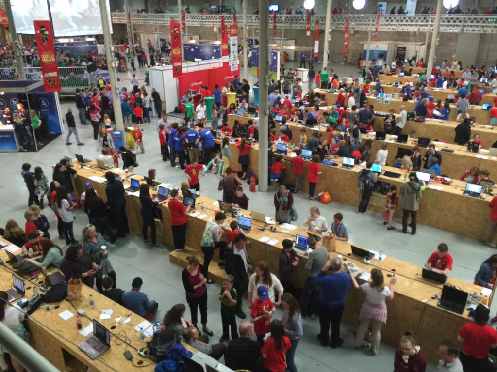 .@coderdojo @coolestprojects teams have rocked Dublin with cool! :-))) http://t.co/SsbYmtxiPW