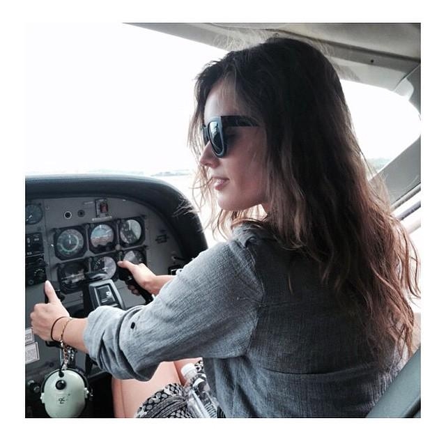 Don't worry, y'all…Captain @JacMonikaJac's got this. ???? ✈️ #OwnTheSummer http://t.co/j9GYrSzC8b