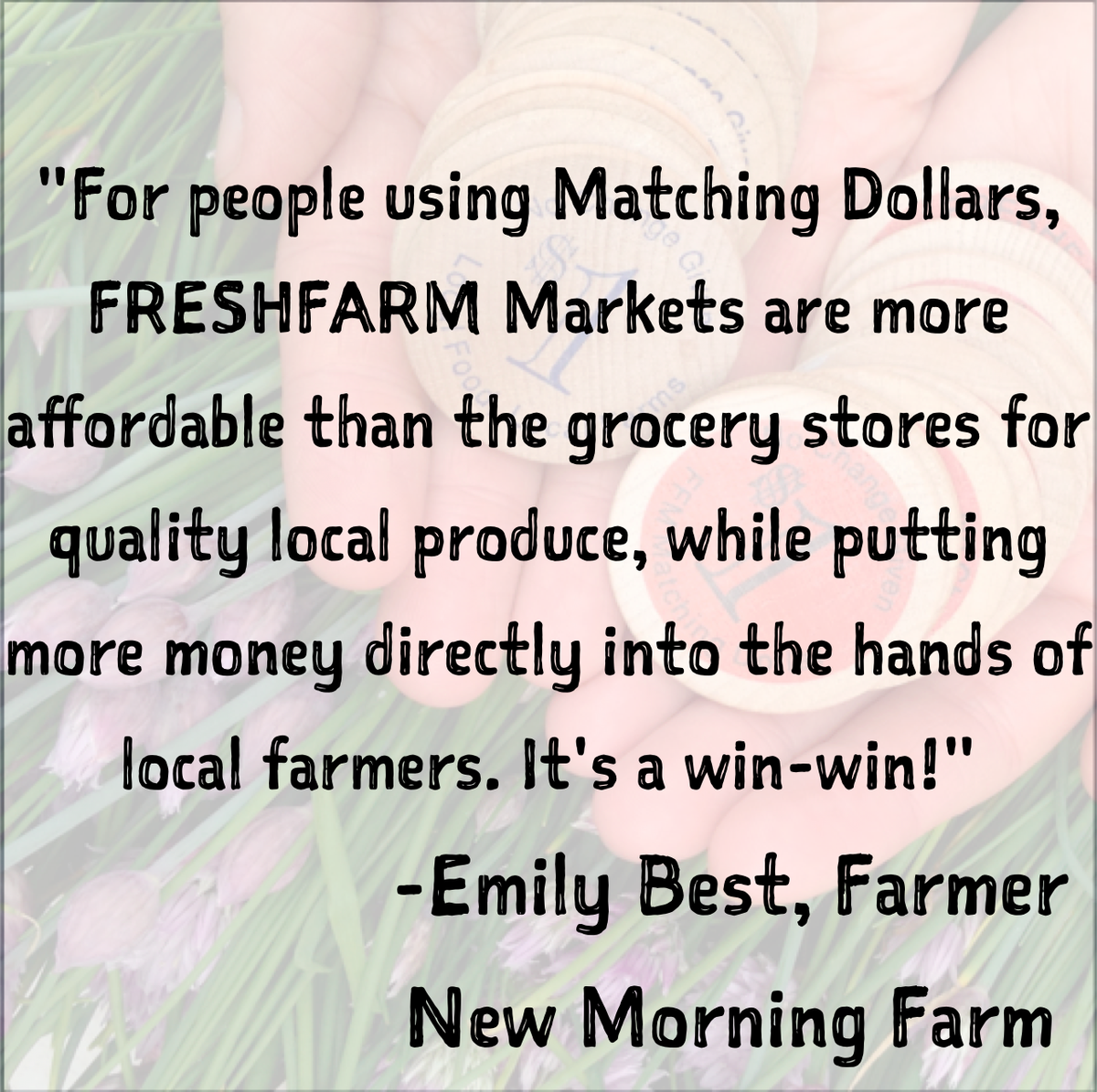 Our Matching Dollars program gives low income shoppers more buying power & we need your help! http://t.co/6KHfqXCbbL http://t.co/6FHJSBlUcB