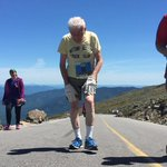 RT @rickeygates: George is 95. He ran the 4600' up Mt. Washington today.