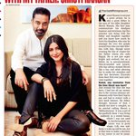 RT @priyaguptatimes: My interview with the legend Kamal Haasan & his gorgeous daughter Shruti @shrutihaasan http://t.co/yF0E1OstMM