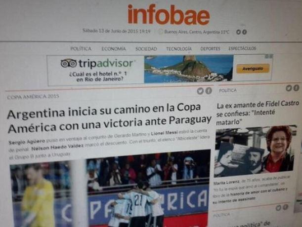 "Medio argentino ""cantó victoria antes de tiempo"" http://t.co/5Bz3zo5TM5 http://t.co/lufb7QASEo"