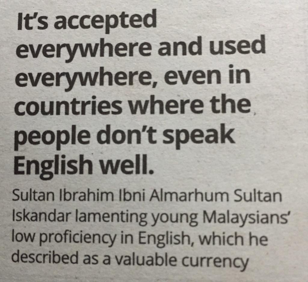 Tahukah anda ada pelajar MARA yang tidak fasih berbahasa Inggeris dapat melanjutkan pelajaran di UK? http://t.co/Rg47u1cRAl