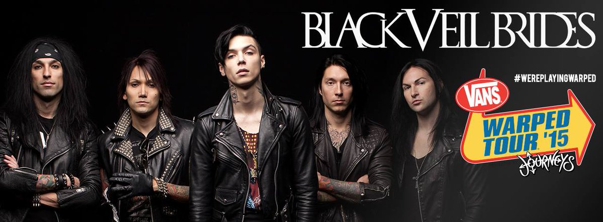 Get ready for @VansWarpedTour with @JakePittsBVB of @blackveilbrides http://t.co/6U9GVg6F7v http://t.co/wczmkujKrV