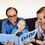 RT @RL_Stine: My grandson Dylan loves DADA, the new book by @jimmyfallon. http://t.co/gqxl3k7WAl