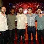 Coming: #XmasMovie! @evandgoldberg @AnthonyMackie @Sethrogen @hitRECordJoe & dir @jonathanalevine at @summerofsony