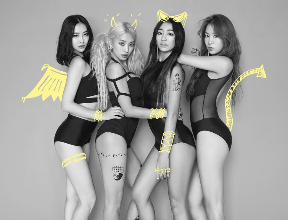 #SISTAR COME BACK! D-8, #the_evil_charmers the second official image! #inspiredbytheevilcharmers #shakeit http://t.co/mEtDGvZBSO