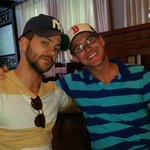 With my dad @GayAtHomeDad.