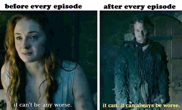 """""""@Daenerys: Never underestimate Game of Thrones. http://t.co/2Ke8gXqNrr"""" word."""