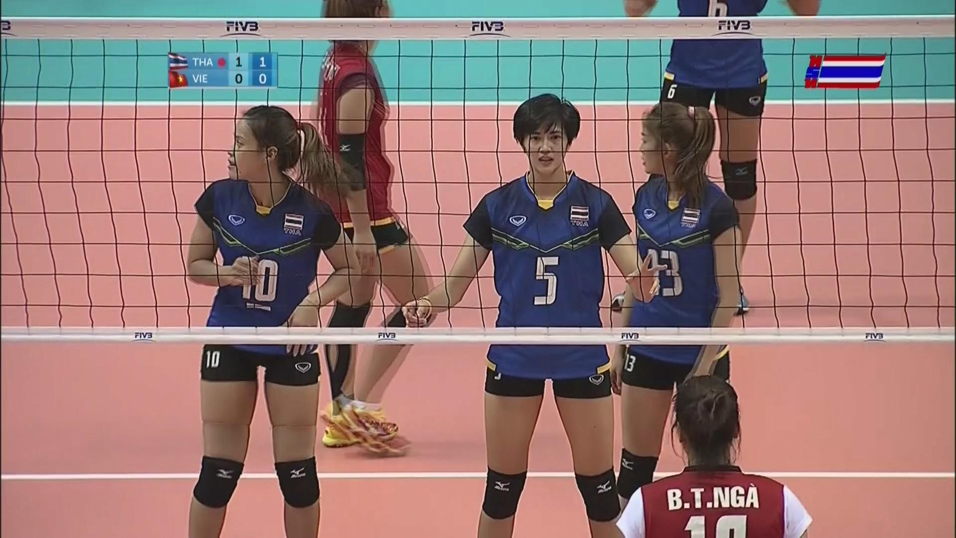 RT @MorningNewsTV3: #วอลเลย์บอลหญิง นัดชิงเหรียญทอง #ซีเกมส์ สาวไทยนำเวียดนาม 1-0 เซต ด้วยสกอร์25-18 #SEAGames2015 http://t.co/qZV4bgjNuy