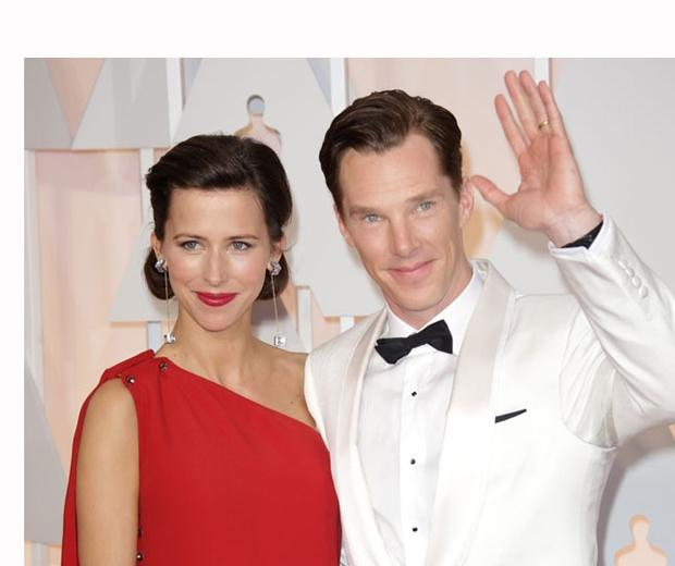 Aw. Benedict Cumberbatch and Sophie Hunter announce some *adorable* news...!