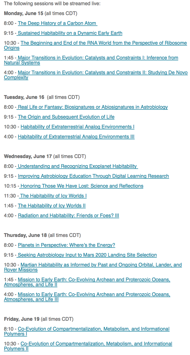 Can't make it to #AbSciCon? You can watch it remotely at https://t.co/CNg5uuJWOz http://t.co/UwlyWC704t