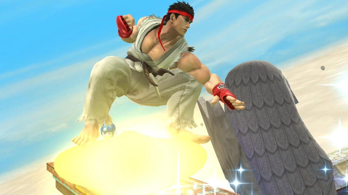 リュウさんのワープスターの乗り方 #スマブラ3DS_WiiU #WiiU http://t.co/3NcDWzAOmp