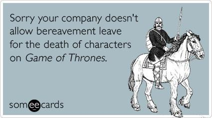We all just watched the #GoTFinale during lunch. Can we go home now? http://t.co/22w66z1rg2