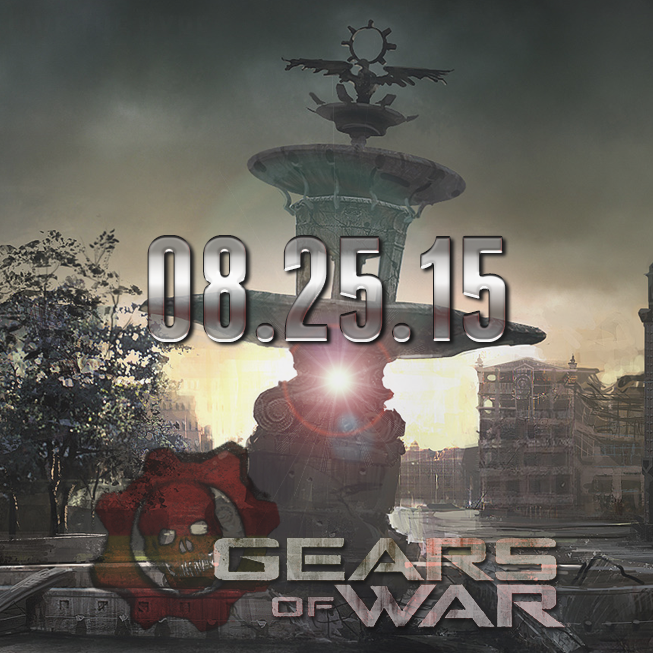 #ReEmergenceDay has been announced! Gears of War comes to XB1 on August 25th, 2015! Our time has come! #LiveTheHype http://t.co/HpN4EYlRlm