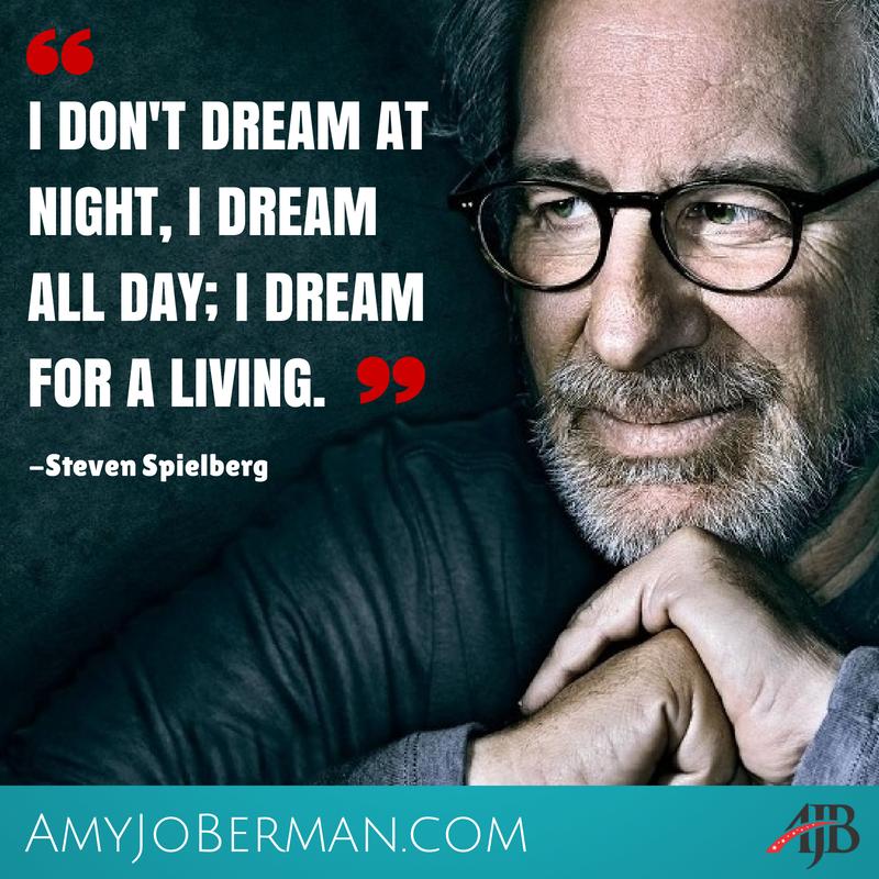 """I don't dream at night. I dream all day. I dream for a living"" #StevenSpielberg #actorslife http://t.co/3UKm5CKk6d"