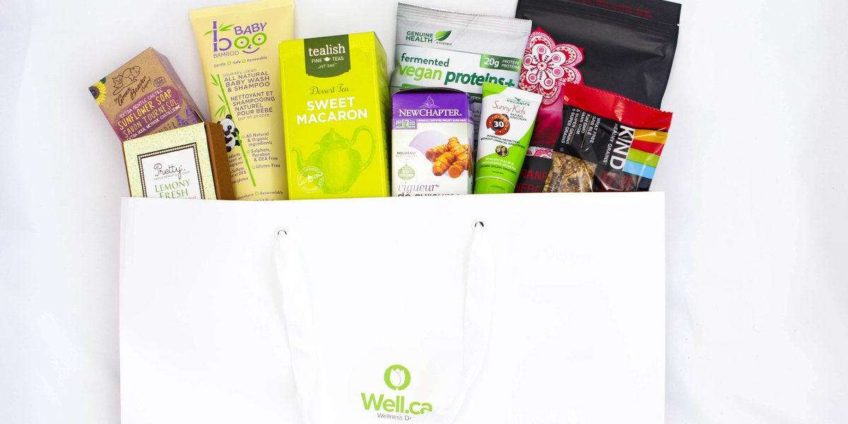 You could WIN a #welldotca gift bag! Just follow @welldotca & RT this post to enter! Ends June 17th, 11:59 pm ET http://t.co/WuX44zXWSL