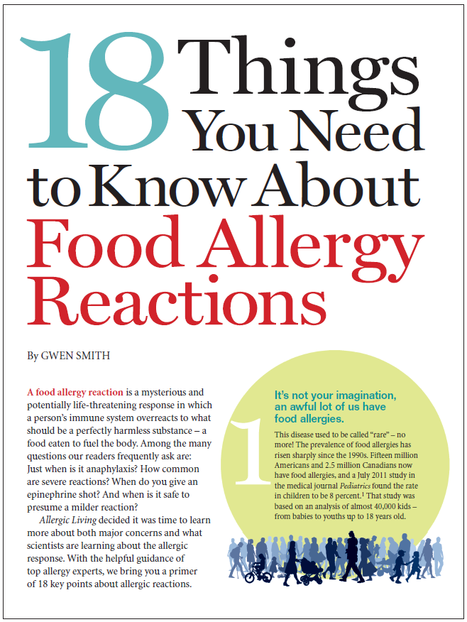 Free ebook gives you answers: 18 Things to Know About #Foodallergy Reactions. http://t.co/DGqc9Xhu7j http://t.co/jrMASed48b