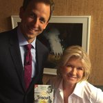 Watch @Seth Meyers tonight  on for @therealtriscuit designed by me!!!! Sea salt and toasted coconut http://t.co/uokz5Q8gUd