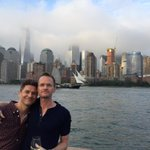 The great @Davidburtka took me on a boat ride around the city of NYC. What a fantastic way to celebrate my birthday!