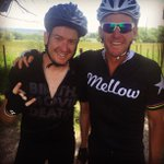 RT @timalamo: Just a couple of Austin boys riding bikes in Colorado #RideTheRockies @LanceArmstrong