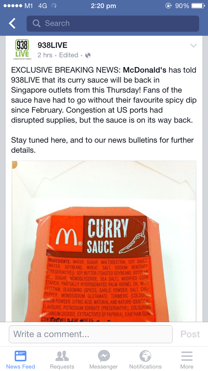 BREAKING NEWS IN SINGAPORE http://t.co/7M5tXPklbY