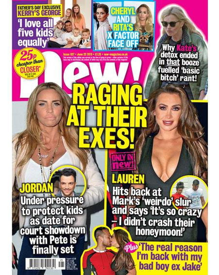 "It's mag day! @LaurenGoodger hits back at @MarkWright_'s ""weirdo"" slur PLUS:"