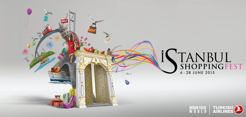 The Istanbul Shopping Fest has started! Enjoy great discounts until the 28th of June.