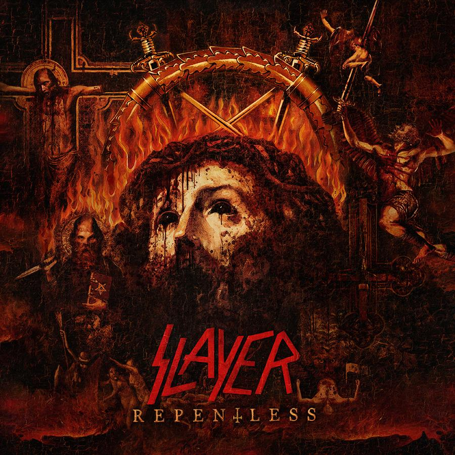 .@Slayer reveal #Repentless album artwork; title track digital global release this Friday! https://t.co/FUteUut9BU http://t.co/LQRBcPnv7K
