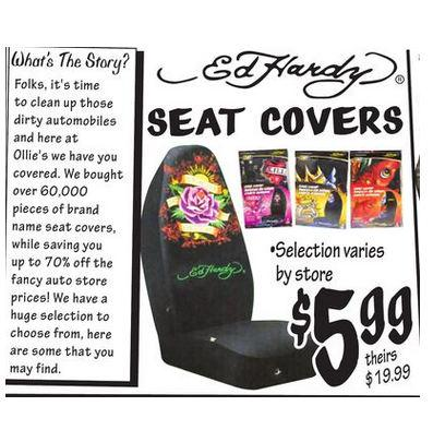 Ollies Bargain Outlet Which Sells Ed Hardy Carseat Covers For 599 Has Filed