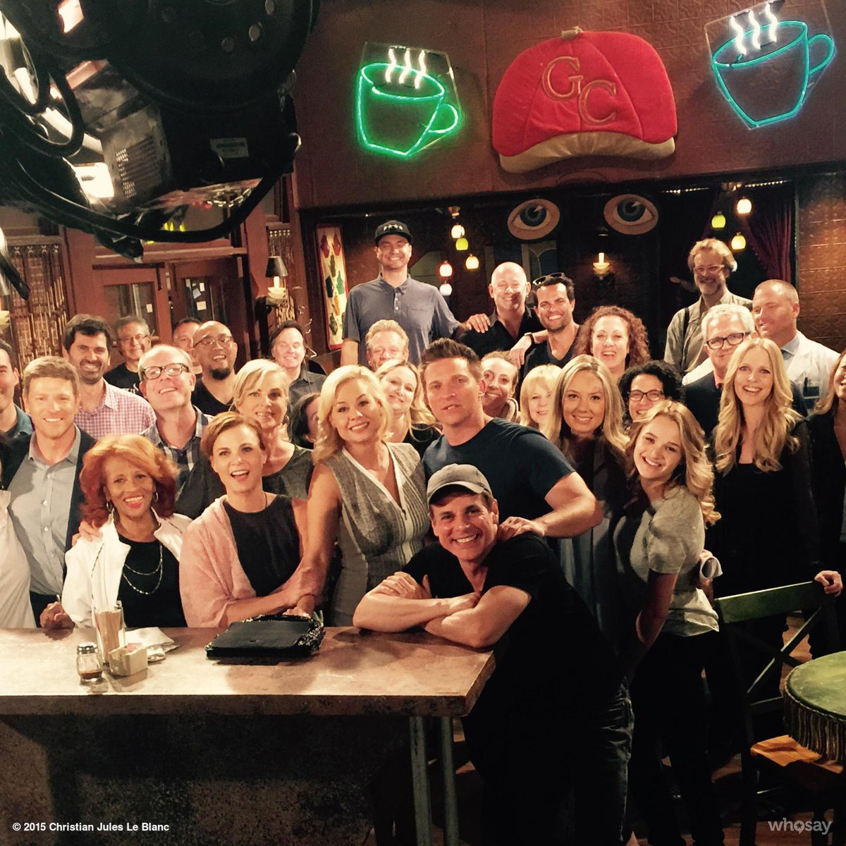 @JessicaCollins knocks it out of the park on her last #YR day!!! @YandR_CBS @CBSDAYTIME @YRInsider @Global_TV http://t.co/AnXNDBdZjE