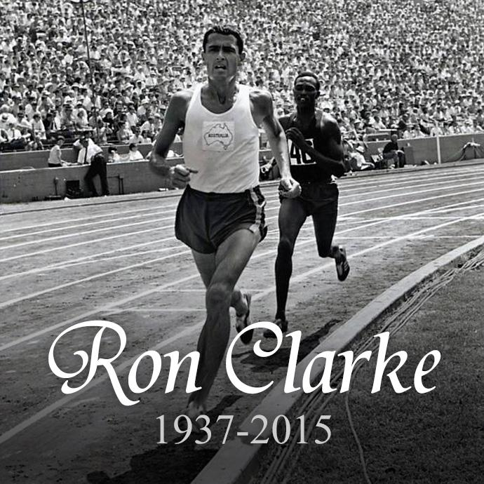 Very sad news this morning, with the passing of @AthsAust Hall of Fame inductee Ron Clarke. A legend of our sport. http://t.co/1Qtx7P7aBA