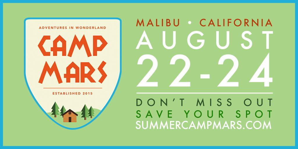 ???? ⛺️ ???? #CampMars http://t.co/uhdPT2dSE0 http://t.co/nbfGXAC2jd