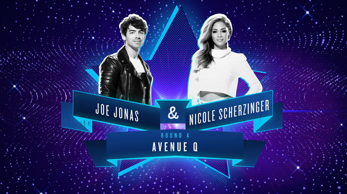 RT @NBCICanDoThat: .@joejonas and @nicolescherzy are about to let their hands do the talking with @avenueqmusical up next! #ICanDoThat http…