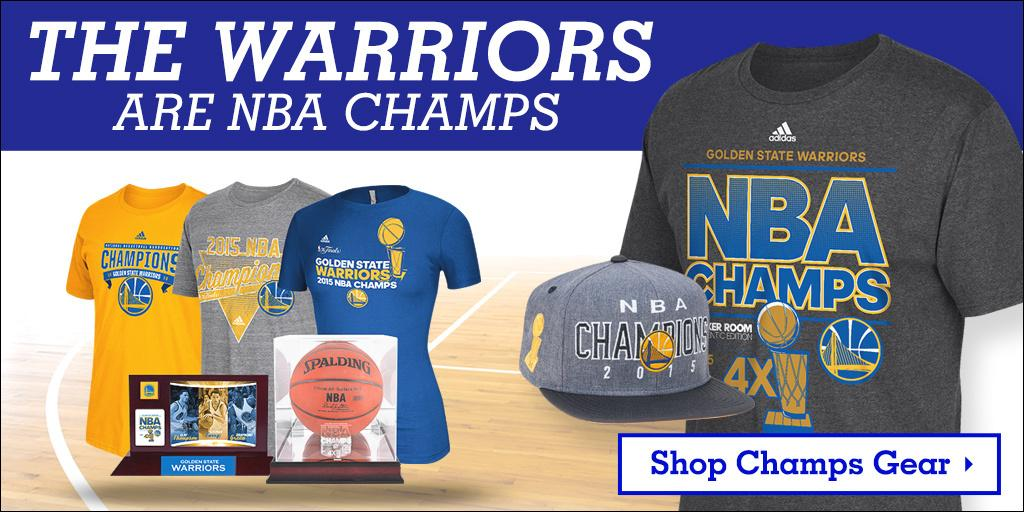 The Warriors CAME OUT TO PLAY!   Find the newest Dubs NBA Champions gear @FansEdge - http://t.co/udnhlrt4YF http://t.co/m0LlvHRBrU
