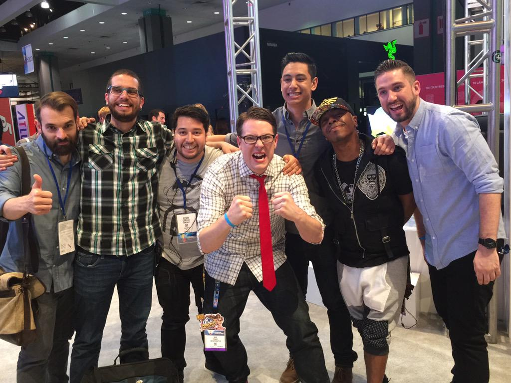 Thankx to @KindaFunnyVids & @gamespot for an awesome @E3 2015 experience!Love U Guys!