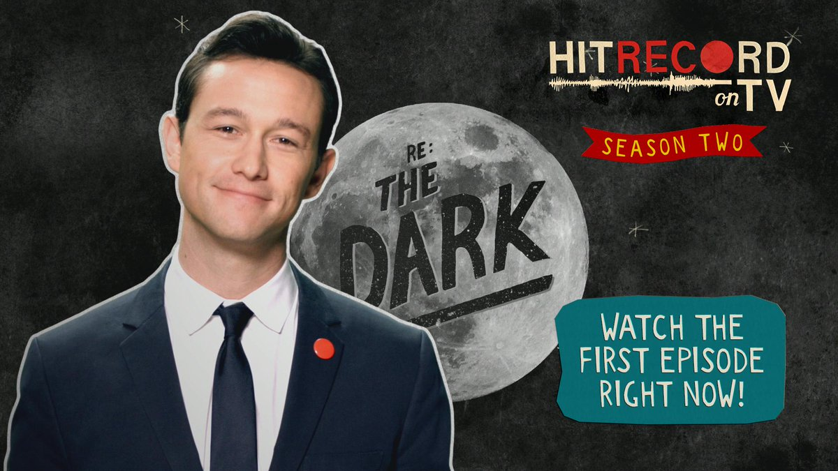 And now, a full episode of beautiful television, #HITRECORDonTV Season 2 Premiere!  http://t.co/0g7BWOo0eU http://t.co/nqQj0RI7rF