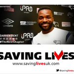 RT @SavingLivesUK: Good News from @DarrenBent http://t.co/CyDRb228Yo as he makes the move to @dcfcofficial @derbyfans