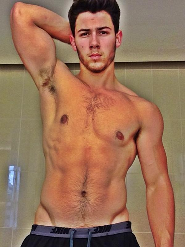 Friendly reminder that Nick Jonas (and his biceps) are now SINGLE.
