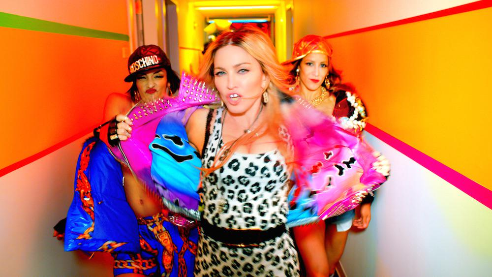 RT @Madonna: We Go Hard Or We Go Home! Full #BITCHIMMADONNA video premiering on @TIDALHiFi now!! http://t.co/JPoVLsoJv0 http://t.co/2EL7XI5…