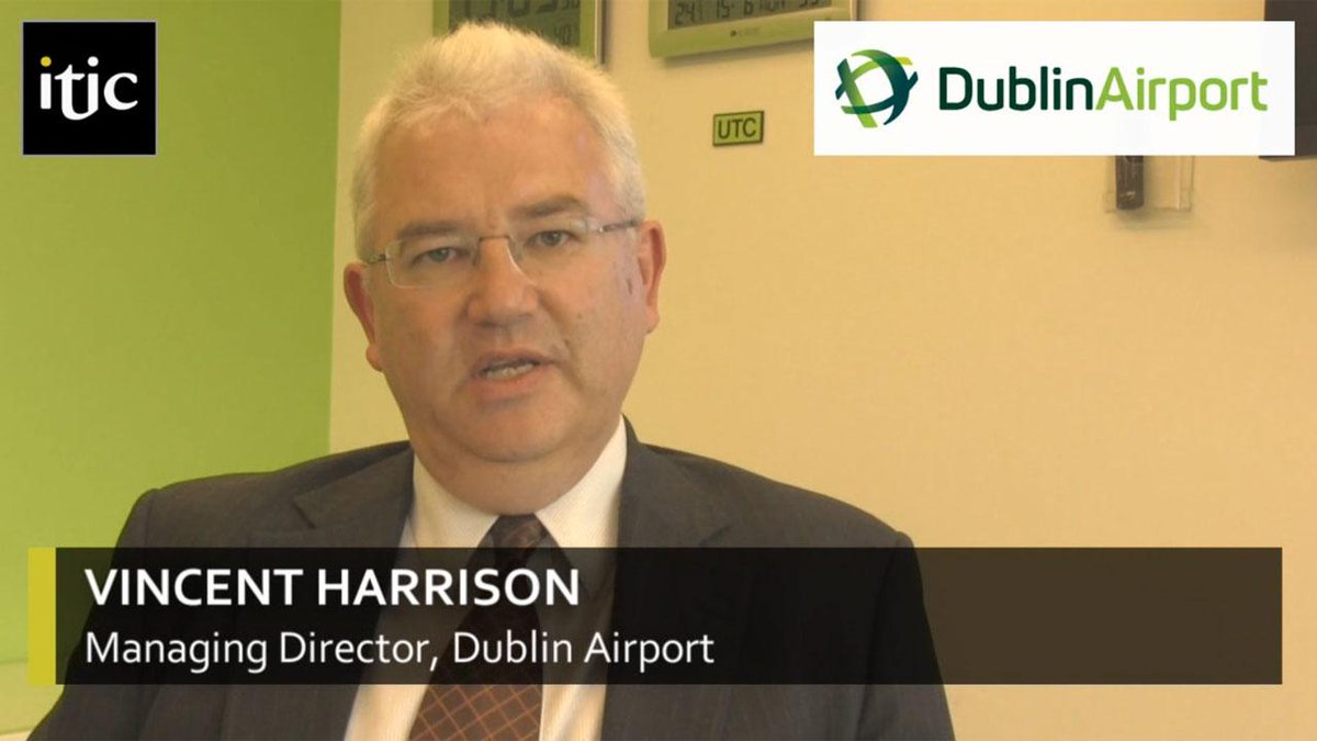 RT @Irishtouristind: Check out our interview with Vincent Harrison, Managing Director of @DublinAirport