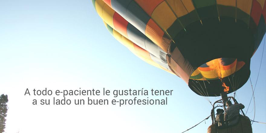 A todo e-paciente le gustaría tener a su lado un buen e-profesional #InfluencersIppok http://t.co/jobpMYLseD