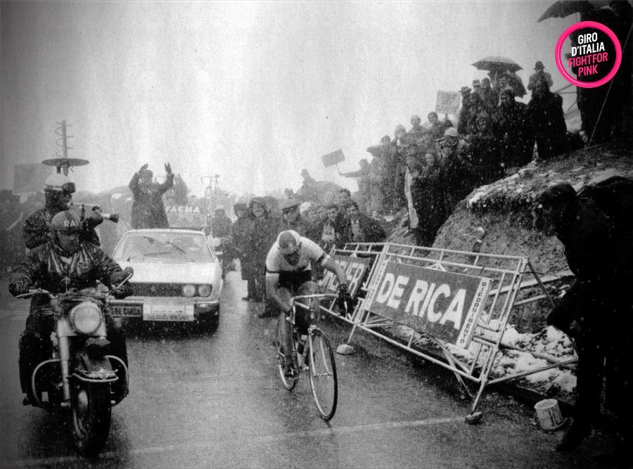 Giro d\'italia 1968, merckx wins on tre cime di lavaredo, «the ...
