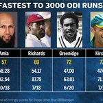 RT @ESPNcricinfo: Kane Williamson gets to 3000 ODI runs quicker than Virat Kohli, he is fifth overall http://t.co/Csop4i9H5a #ENGvNZ http:/…
